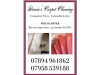 Professional carpet cleaning £20 offer