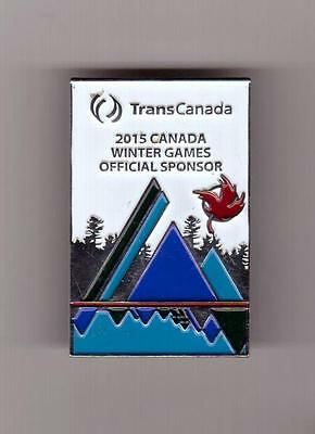 Transcanada Official Sponsor 2015 Prince George Canada Winter Games Pin Cwg