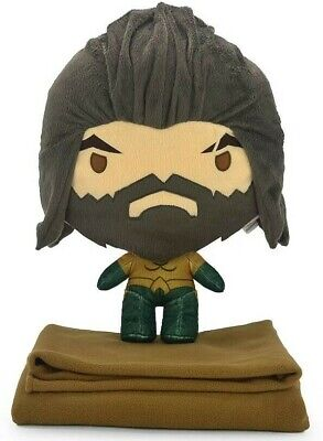 OFFICIAL LICENSED AQUAMAN Plush Soft Doll Toys Travel Pillow Blanket Cushion 16