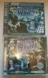 Doctor Who audio Cd's