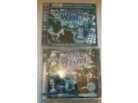 Doctor Who audio Cd's