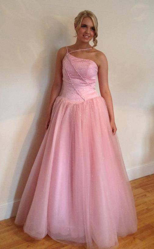 Pink prom dress size 8- 10 | in Grays, Essex | Gumtree