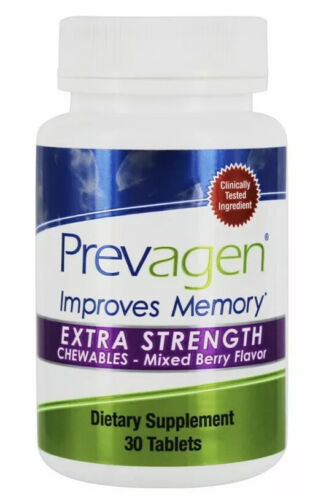 Prevagen Extra Strength Chewables Berry Flavor 30 Tablets 20MG New In Box  - $34.95