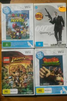 Nintendo Wii Games Mario Donkey Kong 007  Toronto Lake Macquarie Area Preview