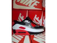 NIKE AIR MAX 90 (Dk Grey/Red/White)
