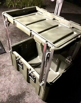 Legs Set For Hardiggpelican Cases. Turn Your Shipping Case Into A Table