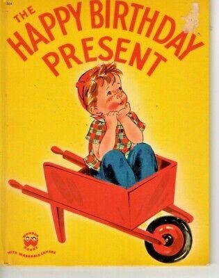 VINTAGE - HAPPY BIRTHDAY PRESENT - 1951 WONDER BOOKS  - VERY GOOD](Happy Birthday Books)