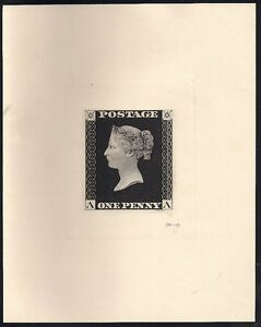 GREAT-BRITAIN-1-1d-black-Enlarged-Die-Sunk-Reproduction-Peckmore-imprint