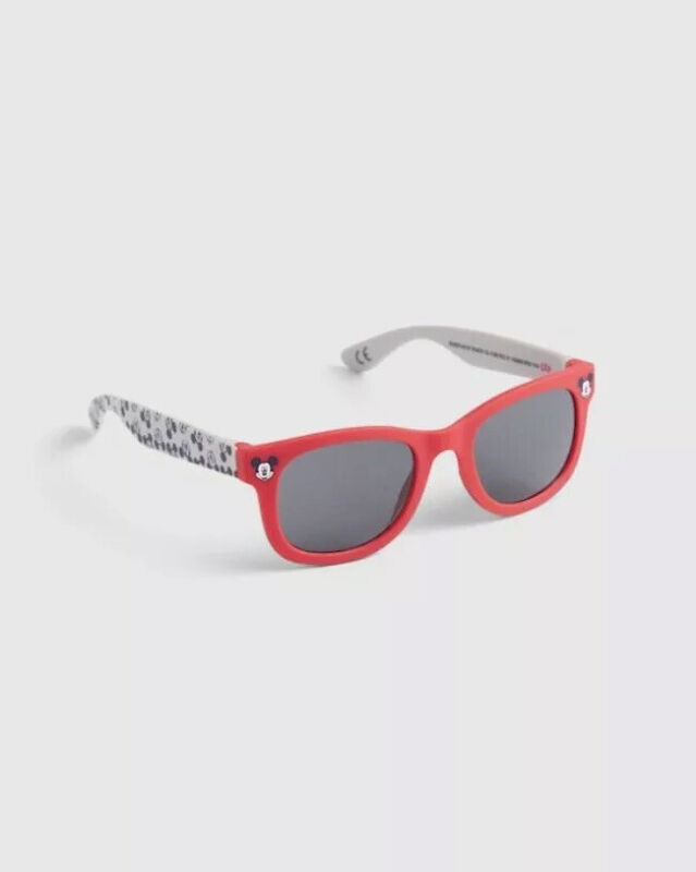 Gap Baby Boy / Toddler Sunglasses Disney Mickey Mouse Sun Glasses Shades Red NWT