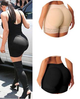 Sexy Women Seamless Hip Enhancer Shaper Push Up Padded Panties Underwear Briefs