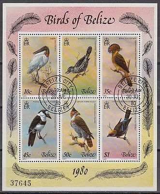 Belize 1980 fine used Bl.18 Vögel Birds [sq6605]