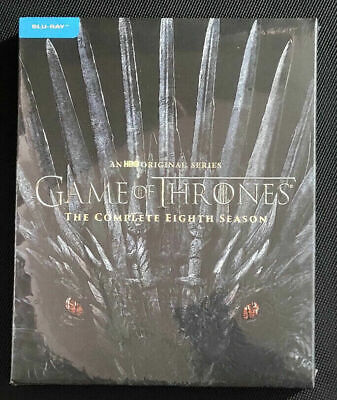 Game of Thrones: Season 8 (Blu-ray, 2019) New & Sealed Free Shipping US