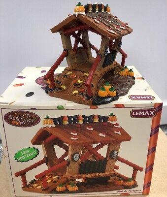 Halloween Lemax Village House Goblin Bridge Sugar 'N Spice