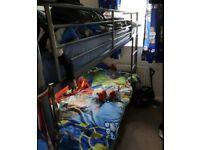 Silver bunkbed