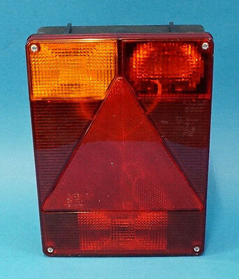 LH Radex 6800 Rear Trailer Light - Non Plug-in - Ifor Williams & Indespension #T - Non-plug