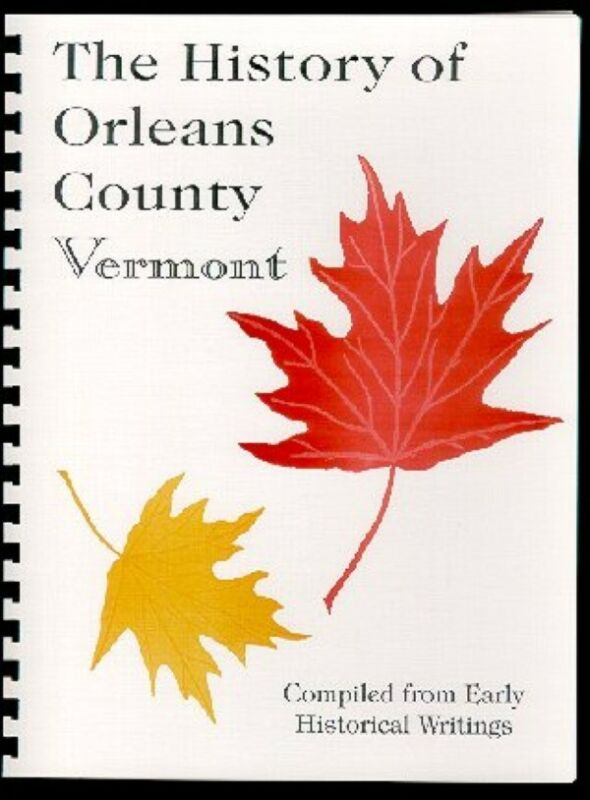 History of Orleans County Vermont