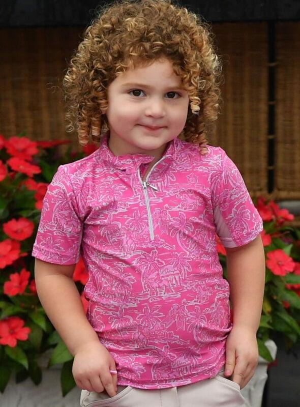 Belle & Bow Equestrian Childs Sun Shirt - Wellington