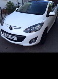 Mazda 2 Black Limited Edition Low Mileage Low Tax Very Good Condition
