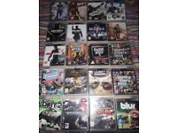 PS3 20+ Games Excellent Condition