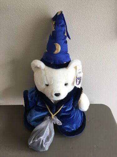 1999 Dayton Hudson Millennium Santa Bear Wizard With Eight Ball & Tags
