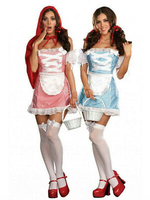 Happily Ever After Sexy Reversible Adult Costume Red Riding Hood Dorothy - Happily Ever After Kostüm