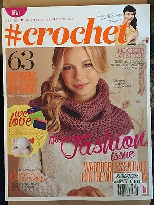 # hashtag Crochet Inspiring Patterns Fashion Trends Winter 2014 FREE SHIPPING