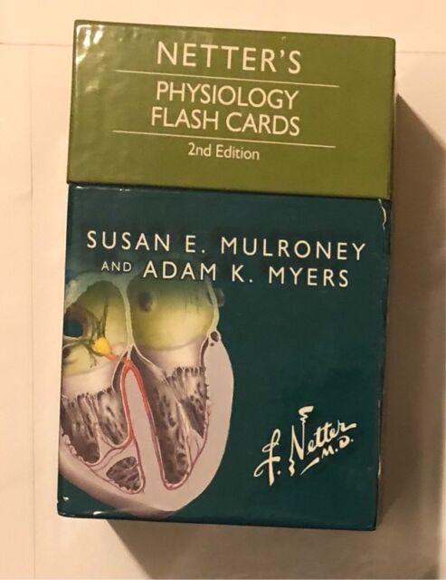 Netters Physiology Flash Cards Textbooks Gumtree Australia Monash Area Glen Waverley 1196079521