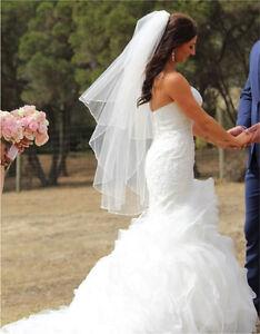 Raffaele Cuica Pronovias Beca wedding dress custom make an offer! Waurn Ponds Geelong City Preview