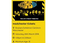 Madchester Tickets Saturday Bowlers