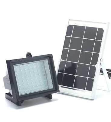 Premium 60 LED Spot Solar Flood Light For Farm, Yard, Sheds, Commercial Signs ()