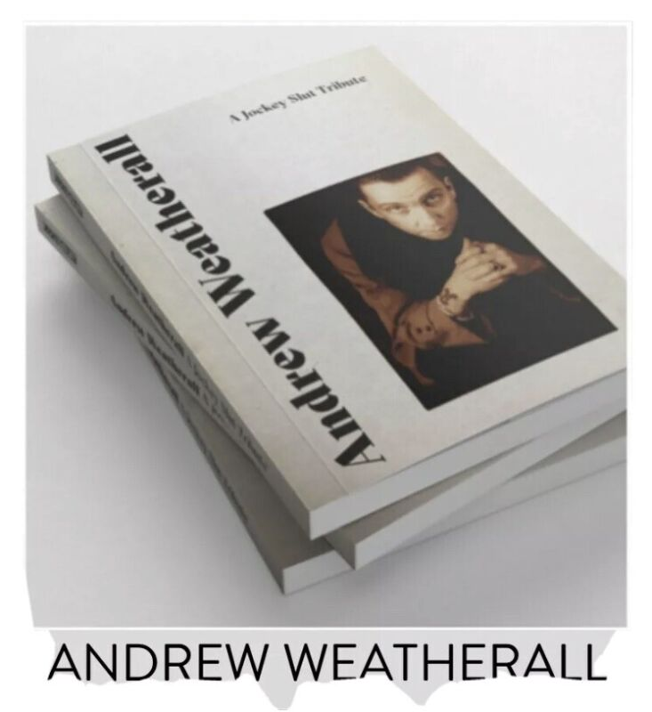 Andrew Weatherall A Jockey Slut Tribute - 1st Edition Sold Out