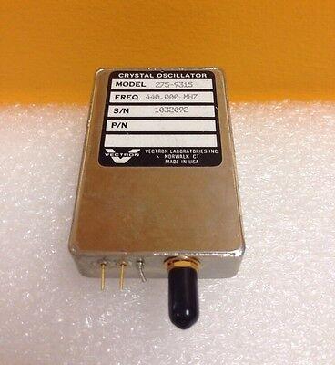 Vectron 275-9315 440.000 Mhz Sma F Crystal Oscillator Sale