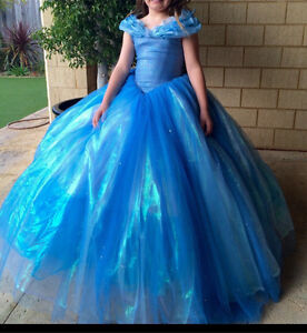 Kids Cinderella Costume  Dress toys party Girls Halls Head Mandurah Area Preview