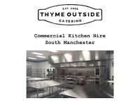 Commercial Kitchen space for hire in manchester