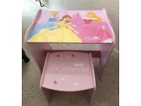 Disney Princess My First Desk & Stool