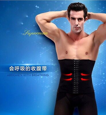 UK BEST WAIST BODY SHAPER FOR MEN STOMACH GIRDLE TUMMY TRIMMER CONTROL BELT