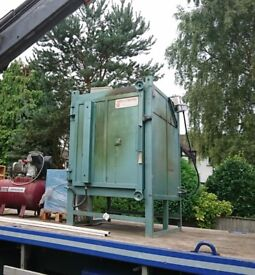 Industrial, 3 phase, front loading, electric pottery kiln. OPEN TO OFFERS.