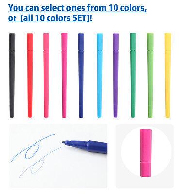 Aqueous Muji Hexagonal Water Based Twin-Tip Pen Choose Your Flavor Color