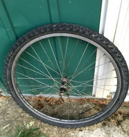 Acera Front wheel for a mountain bike