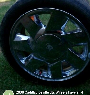 2000 Cadillac Deville Dts Wheels