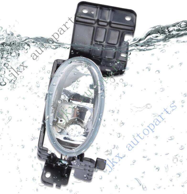 1 Set of Fog Light Lamp Kits with Bezels For Honda Accord Crosstour 2010-2012