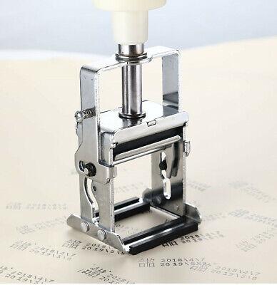 New Small Manual Ink Coding Machine Date Figure Plastic Pad Printing Machine