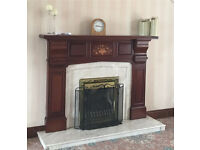 Fireplace and gas fire
