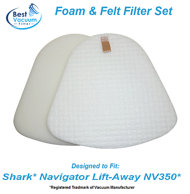 Best Vacuum Filter Compatible Shark Navigator Lift-Away NV35