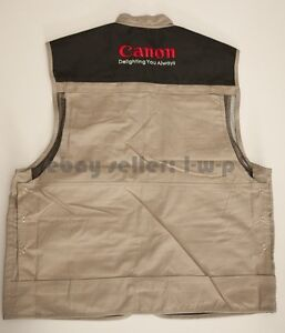 Canon-Vest-Size-XL-L-fit-5D-Mark-III-II-60D-7D-NEW-Kit-USA-Jacket-photography