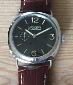 Panerai style watch