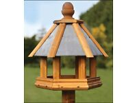 TOM CHAMBERS LARGE ROSEDALE WILD BIRD TABLE