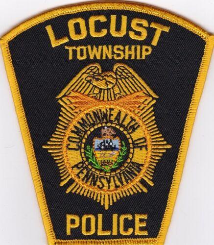 Locust TWP Pennsylvania PA Police patch