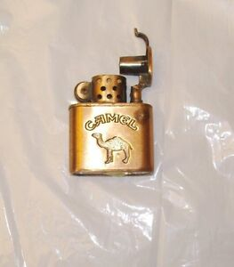 Brass CAMEL Cigarette Lighter VINTAGE Collectible