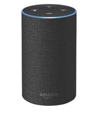 Amazon Echo New 2nd Generation Black Charcoal Fabric Alexa Smart Home Automation